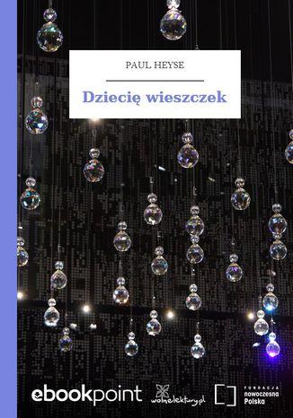 Okładka książki/ebooka Dziecię wieszczek