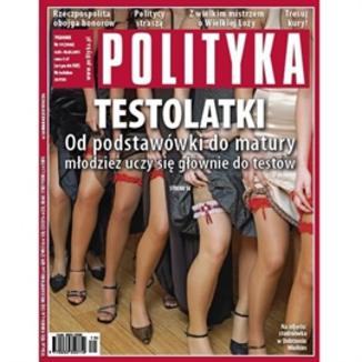 Okładka książki AudioPolityka Nr 19 z 4 maja 2011 roku
