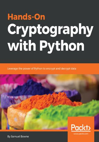 Okładka książki/ebooka Hands-On Cryptography with Python