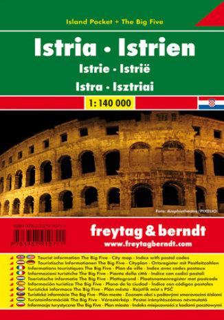 Okładka książki/ebooka Istria. Mapa samochodowa