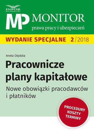 Okładka książki/ebooka Pracownicze plany kapitałowe