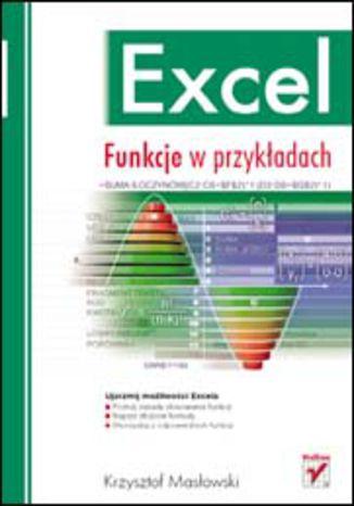 Okładka książki/ebooka Excel. Funkcje w przykładach