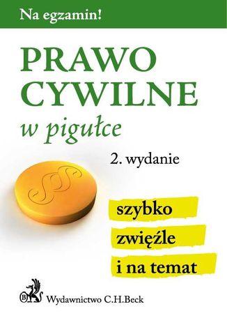 Okładka książki/ebooka Prawo cywilne w pigułce. Wydanie 2
