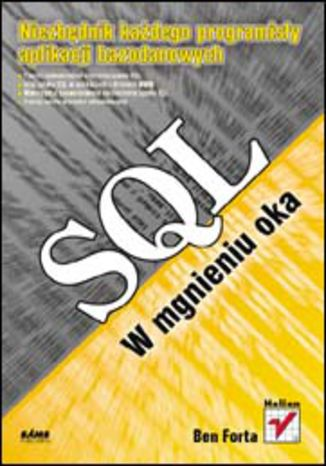 Okładka książki/ebooka SQL w mgnieniu oka