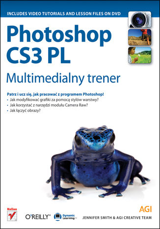 Okładka książki/ebooka Photoshop CS3 PL. Multimedialny trener