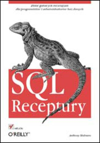 Okładka książki/ebooka SQL. Receptury
