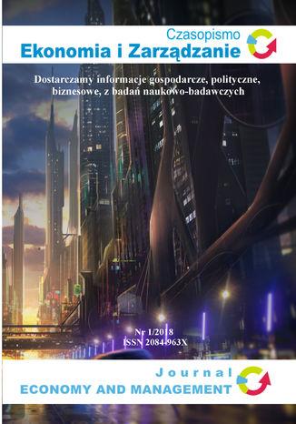 Okładka książki/ebooka Czasopismo Ekonomia i Zarządzanie nr 1/2018