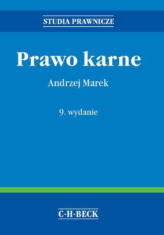 Okładka książki/ebooka Prawo karne - miękka oprawa