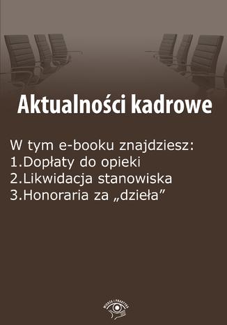 Okładka książki/ebooka Aktualności kadrowe, wydanie czerwiec 2015 r. część II