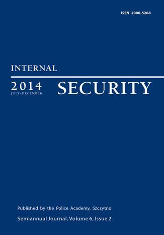 Okładka książki/ebooka Internal Security, July-December 2014