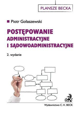 Okładka książki/ebooka Postępowanie administracyjne i sądowoadministracyjne