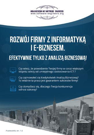 Okładka książki/ebooka Rozwój firmy z informatyką i e-biznesem