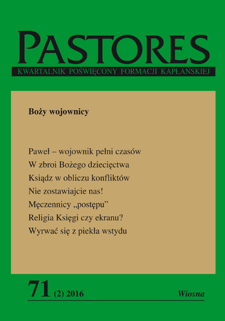 Okładka książki/ebooka Pastores 71 (2) 2016
