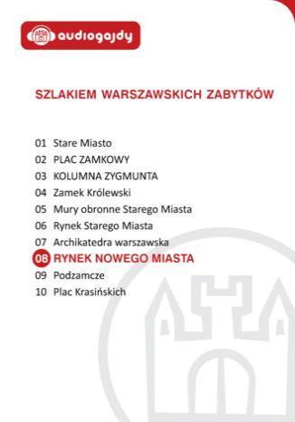 Okładka książki/ebooka Rynek Nowego Miasta. Szlakiem warszawskich zabytków