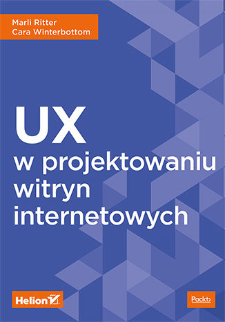Okładka książki/ebooka UX w projektowaniu witryn internetowych