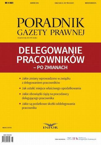 Okładka książki/ebooka Delegowanie pracowników  po zmianach