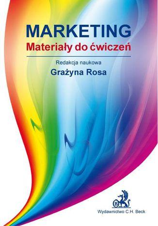 Okładka książki/ebooka Marketing Materiały do ćwiczeń