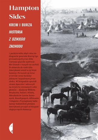Okładka książki/ebooka Krew i burza. Historia z Dzikiego Zachodu
