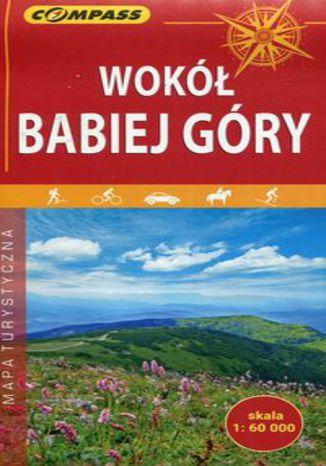 Okładka książki/ebooka Wokół Babiej Góry mapa turystyczna 1:60 000