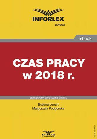 Okładka książki/ebooka Czas pracy w 2018 r