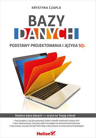 Okładka książki/ebooka Bazy danych. Podstawy projektowania i języka SQL