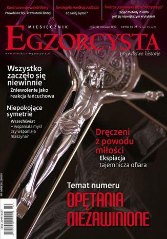 Okładka książki/ebooka Miesięcznik Egzorcysta. Czerwiec 2013