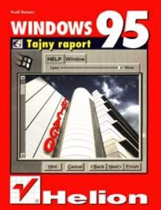 Okładka książki/ebooka Windows 95. Tajny raport