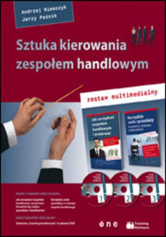 Okładka książki Sztuka kierowania zespołem handlowym. Zestaw multimedialny