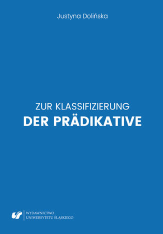 Okładka książki/ebooka Zur Klassifizierung der Prädikative