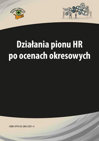 Okładka książki/ebooka Działania pionu HR po ocenach okresowych