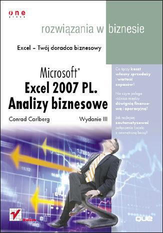 Okładka książki/ebooka Microsoft Excel 2007 PL. Analizy biznesowe. Rozwiązania w biznesie. Wydanie III