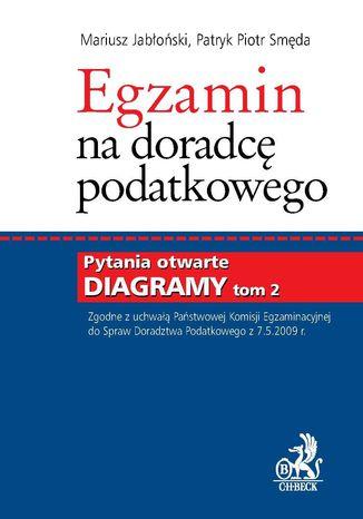 Okładka książki/ebooka Egzamin na doradcę podatkowego. Tom II