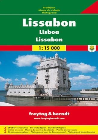 Okładka książki/ebooka Lizbona. Mapa Freytag & Berndt 1:15 000