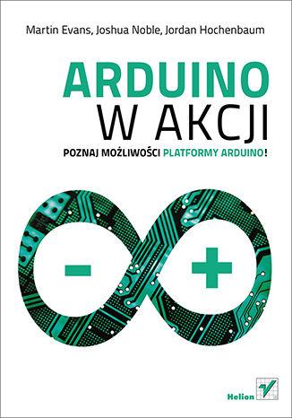 Okładka książki/ebooka Arduino w akcji