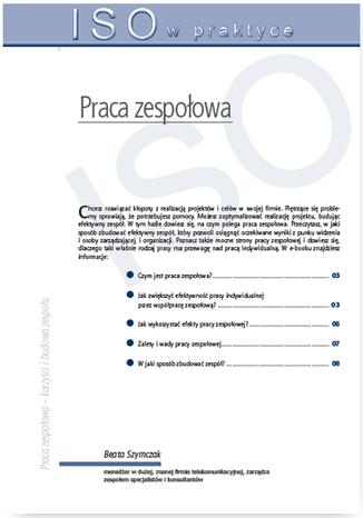 Okładka książki/ebooka Praca zespołowa - tworzenie, formy działania, korzyści i budowa zespołu