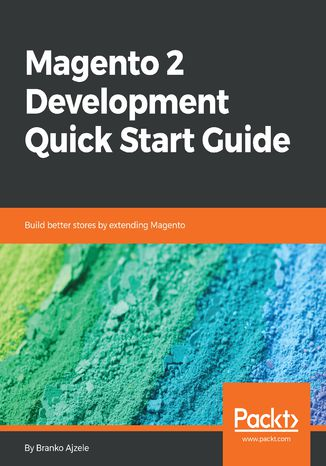 Okładka książki/ebooka Magento 2 Development Quick Start Guide