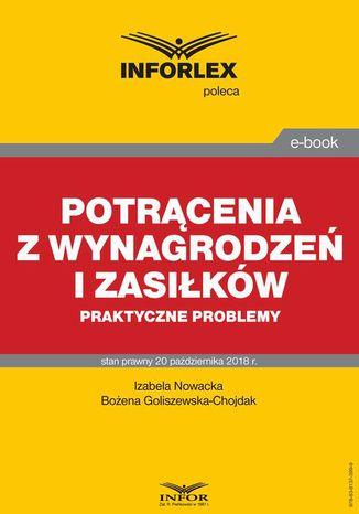 Okładka książki/ebooka Potrącenia z wynagrodzeń i zasiłków  praktyczne problemy
