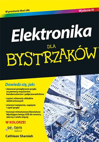 Okładka książki/ebooka Elektronika dla bystrzaków. Wydanie III