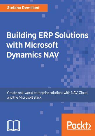 Okładka książki/ebooka Building ERP Solutions with Microsoft Dynamics NAV