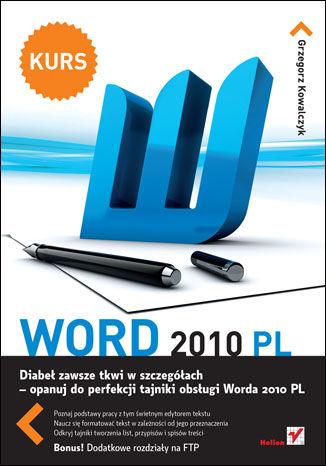 Okładka książki/ebooka Word 2010 PL. Kurs
