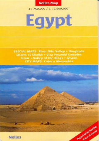 Okładka książki/ebooka Egipt. Mapa