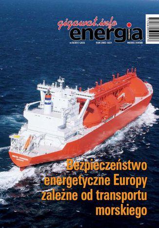 Okładka książki/ebooka Energia Gigawat nr 8/2017