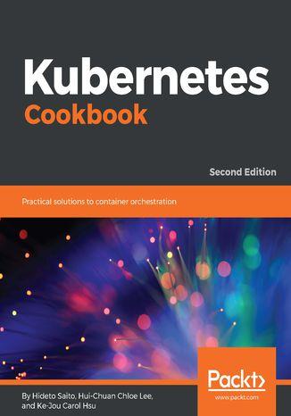 Okładka książki/ebooka Kubernetes Cookbook
