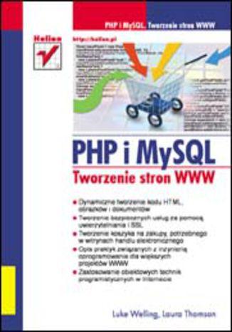Okładka książki/ebooka PHP i MySQL. Tworzenie stron WWW