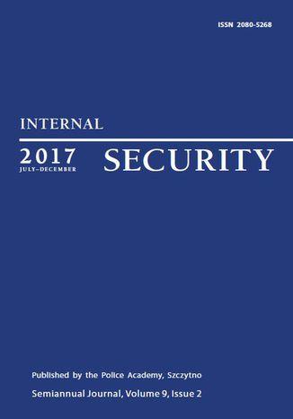 Okładka książki/ebooka Internal Security (July-December 2017) Vol. 9/2/2017