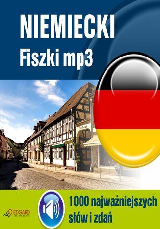 Okładka książki/ebooka Niemiecki Fiszki mp3 1000 najważniejszych słów i zdań