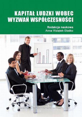 Okładka książki/ebooka Kapitał ludzki wobec wyzwań spółczesności
