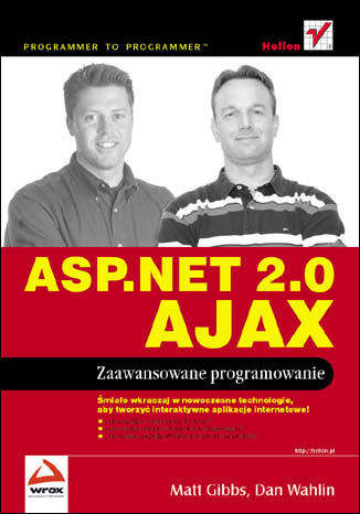 Okładka książki/ebooka ASP.NET 2.0 AJAX. Zaawansowane programowanie