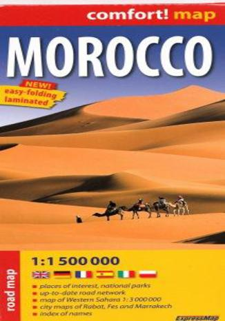 Okładka książki/ebooka Maroko mapa 1 :1 500 000 ExpressMap