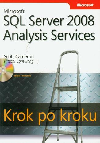 Okładka książki/ebooka Microsoft SQL Server 2008 Analysis Services Krok po kroku